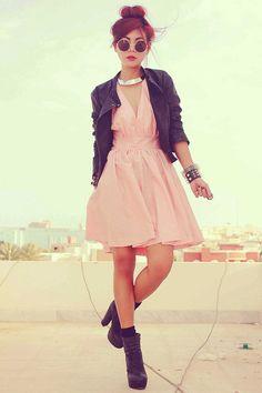 black Forever 21 boots bubble gum open back ClubCouture dress black Topshop jacket black romwe bracelet