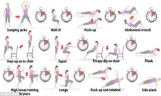 7 minute routine workout