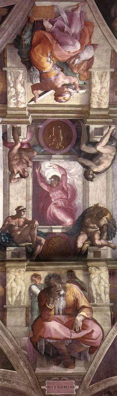 Michelangelo - Sistine Chapel Ceiling.