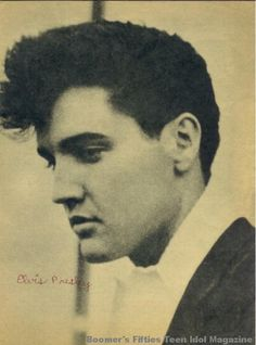 elvis looking very much like his mom gladys elvis. Black Bedroom Furniture Sets. Home Design Ideas