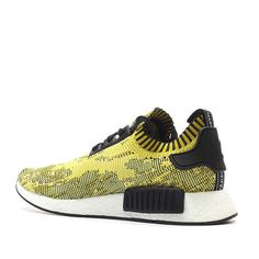 adidas NMD Original Runner Boost Primeknit 'Glitch' (yellow / grey / black) - Free Shipping starts at 75€ - thegoodwillout.com
