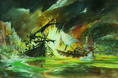 The Battle of Blackwater Bay by Wiligothic