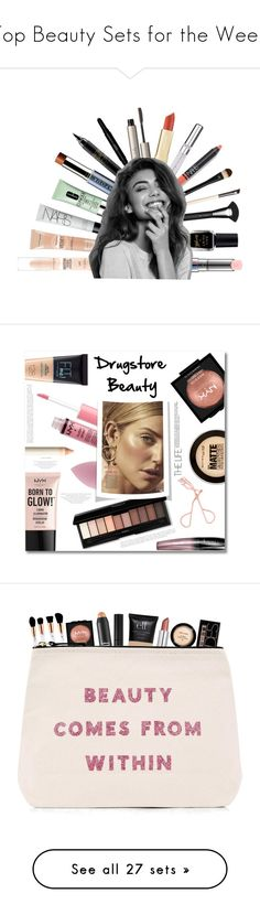 """""""Top Beauty Sets for the Week"""" by polyvore ❤ liked on Polyvore featuring beauty, Clinique, MAC Cosmetics, Vapour Organic Beauty, Yves Saint Laurent, Chantecaille, Ilia, NARS Cosmetics, NYX and Barry M"""
