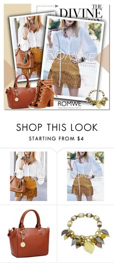 """""""ROMWE"""" by adanes ❤ liked on Polyvore featuring Mode, Vera Wang, Gianvito Rossi, romwe und polyvoreeditorial"""