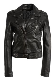 BLK DNM LEATHER PROJECT X | A leather jacket project by Johan Lindeberg