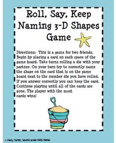 Second Grade Math Maniac: Back to School Freebie Countdown: Shapes