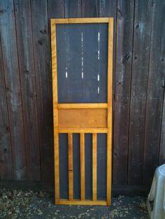 Remarkable Aguadream Doors Vintage Screen Doors - Inspiring Home Design Ideas Diy Interior Screen Door, Wood Screen Door, Screen Doors, Vintage Travel Trailers, Vintage Campers, Vintage Rv, Diy Camper, Camper Ideas, Travel Trailer Remodel