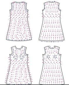 раскладка для платья