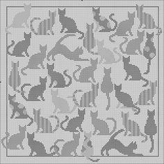 Cross Stitch Charts, Cross Stitch Designs, Cross Stitch Patterns, Crochet Curtains, Tapestry Crochet, Crochet Patterns Filet, Embroidery Patterns, Crochet Ideas, Cross Stitching