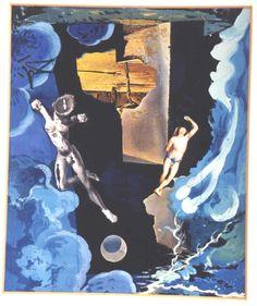 """LaTour"" von Salvador Dali (1904-1989, Spain)"