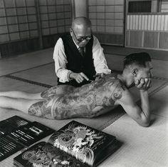 ANCIENT ART OF THE JAPANESE TEBORI TATTOO MASTERS