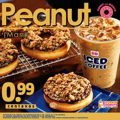 Por solo B/. 0.99 prueba el Donut of The Month de Peanut.	#DonutofTheMonth
