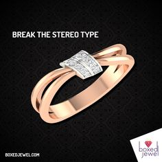 Break the stereotype with www.boxedjewel.com.  Alluring #Rings for the beautiful lady.  #Jewellery