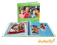 Shutterfly photo book #giveaway