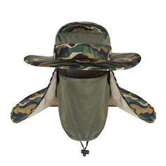 Outdoor Brim Sun Block Quick Drying Fishing Sun Cap Climbing Bucket Hat  Visor – Caps   Hats for Everyone c9154a15f8de