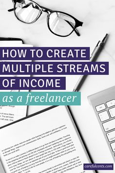 Looking to create multiple streams of income as a freelancer? Here's my complete money breakdown of how I have eight income streams and how much I earn from each one.
