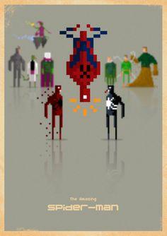 8-bit Spiderman