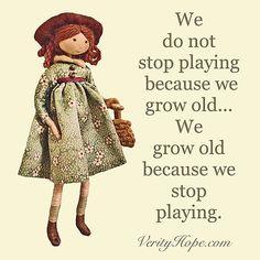 Verity Hope says... #quoteofthenight #quoteoftheday #dollmaking #verityhopedolls