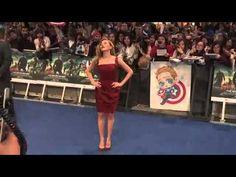 Scarlett Johansson Dazzles at the UK's Captain America Premiere
