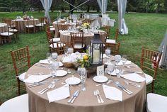 Rustic Wedding Table Settings | Table Setting - Main Line Philadelphia Tent