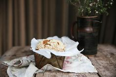 Petite Kitchen's Almond Crumble Banana Bread - Eleanor Ozich shares a wholesome almond crumble bread sweetened with molasses Salted Butter, Nut Butter, Sweet Recipes, Whole Food Recipes, Kitchen Recipes, Cooking Recipes, Petite Kitchen, Recipe Of The Day, Afternoon Tea
