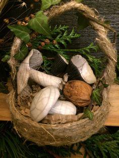 Firewood, Creations, Ceramics, Texture, Crafts, Mushroom, Basket, Ceramica, Surface Finish