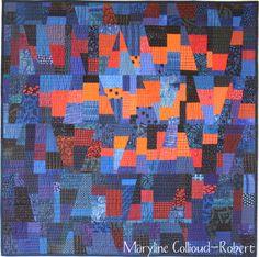 Maryandpatch, Blue/Orange Quilt