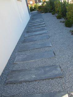 1000 ideas about dalle terrasse on pinterest faux bois for Gravillon noir pour allee