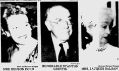 Jacques Balsan | Vanderbilt | Palm Beach Daily News (26 Jan 1963) Mrs. Jacques Balsan ...