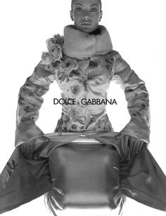 Carolyn Murphy for Dolce & Gabbana, photographed by Steven Meisel, Fall/Winter 1998