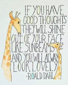 Kara's Classroom: Good thoughts...