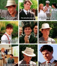 Anne of Green Gables Movie Memes, Movie Quotes, Movie Tv, Funny Memes, Anne Shirley, Supergirl, Jonathan Crombie, Gilbert And Anne, Gilbert Blythe