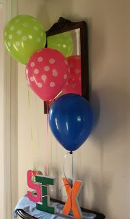 Ballon Topairy            Balloon Cake Pops for the Moms      Party favors for the kids            The balloon artist was a huge hit wit...