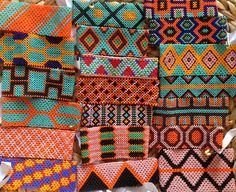 Sorting through shipment of from deep in the of the Indian Patterns, Textures Patterns, Peyote Patterns, Beading Patterns, Rainforest Crafts, Art Loft, Tattoo Project, High Art, Tribal Art