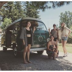 Liked on InstaGram: Estée with the ladies from  #69campers #explore #camping #Provence #frenchriviera #france #aircooled #vwcamper #holiday #vacation #usa #germany #gooutside #ourcamplife #holland  #BestVacations #friends #love #vacances #vwbus #campingcar #neverstopexploring #dreamvacation #luxeryworldtraveler #summer #WeLiveToExplore #backcountry #escapetoearth #bulli