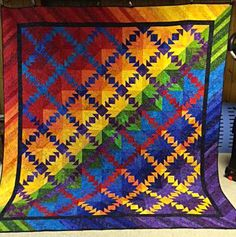 Indian Summer, Quiltworx.com, Made by Deb McGuire.