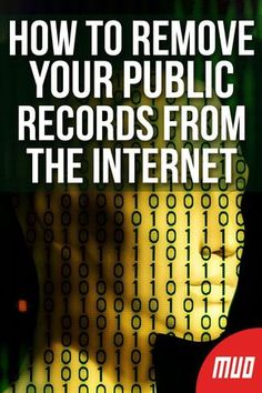 How to Delete Your Personal Data From Public Record Websites - How to Remove Your Public Records From The Internet — Directory listing websites can hold a lot - Life Hacks Computer, Iphone Life Hacks, Computer Basics, Computer Help, Computer Security, Computer Tips, Computer Coding, Life Hacks Websites, Hacking Websites