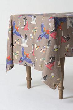 Birds on a tablecloth ($268).