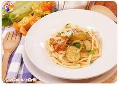 Scialatelli con Zucchine e Fiori di Zucca