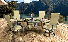 Table & Chairs Outdoor Furniture Sets, Outdoor Decor, Table And Chairs, Patio, House, Ideas, Home Decor, Decoration Home, Terrace