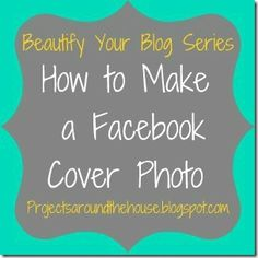 How to make a facebook cover photo using Picmonkey