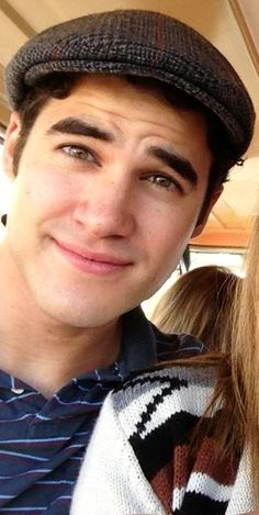 How cute can a picture be? Darren Criss is adorable :3