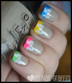 OPI Did You Hear About Van Gogh with various Color Club Poptastic shades.