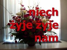 ŻYCZENIA STO LAT, STO LAT ! - YouTube Diy And Crafts, Christmas Wreaths, Happy Birthday, Holiday Decor, Pictures, Youtube, Quotes, Frases, Poland