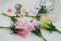 2016 nouveau (10 pcs/lot) DIY Couronnes artificielle fleurs lavande PE Étoilé mariée poignet fleur de mariage fleurs décoration de la maison