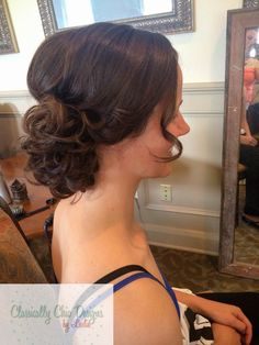 Bridal Updo. Classically Chic Designs by Leslie. www.ccdbyleslie.com