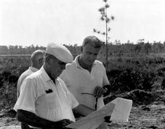 Walt's one and only visit to the Florida property in 1965