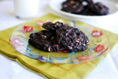 Simply Scratch » White Chocolate Chip Brownie Cookies