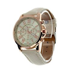 Clearance!Women Wrist Watch,Canserin Faux Leather Analog Quartz: Canserin 1849: Watches