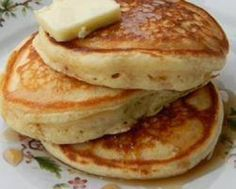 These are absolutely the best home made pancakes we have ever eaten!